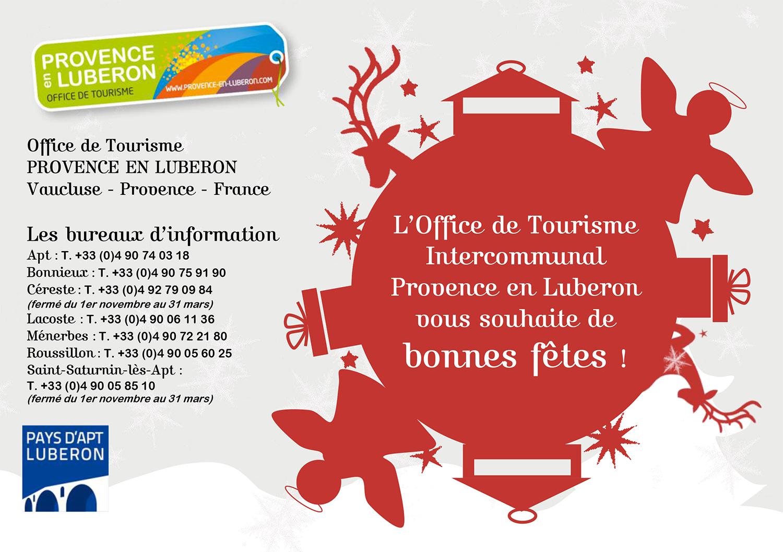 Magie de no l en luberon actualit s luberon - Office de tourisme lourmarin ...