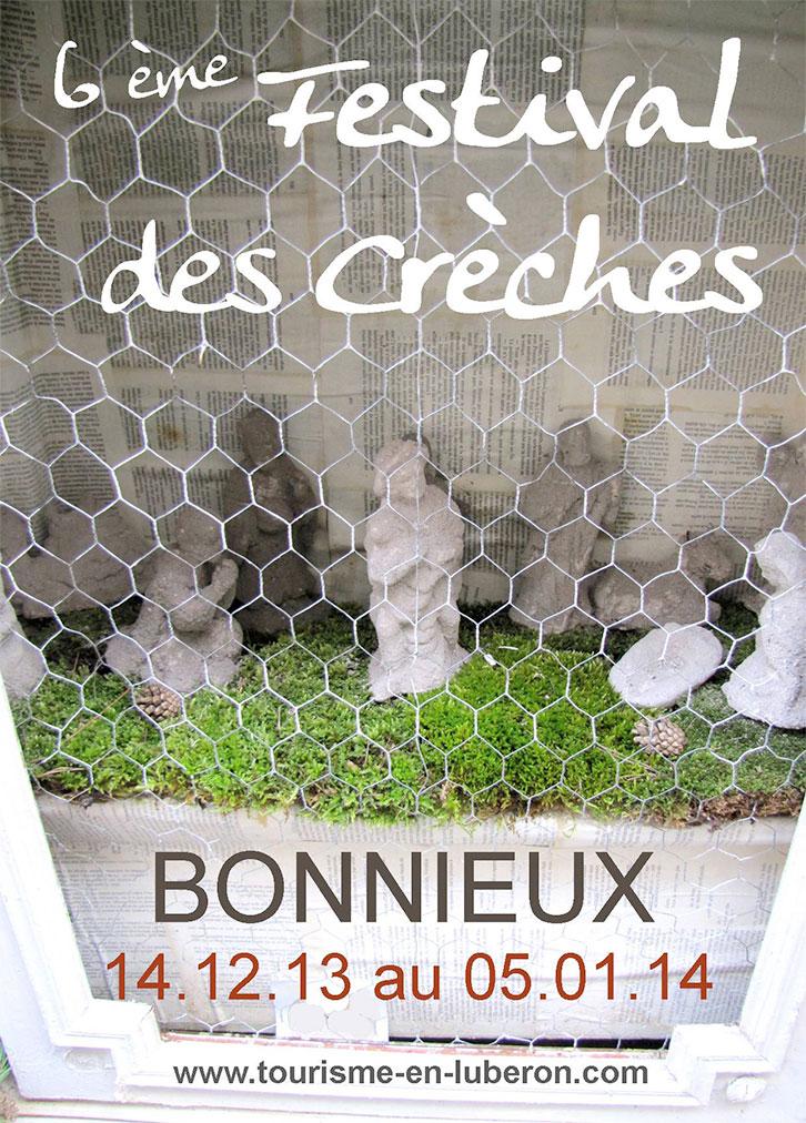 Bonnieux le festival des cr ches blog culinaire edouard loubet - Bonnieux office de tourisme ...